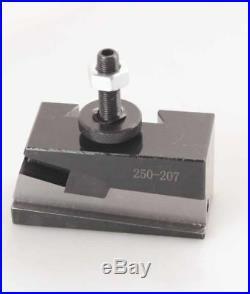 10-15'' Wedge Quick Change Tool Poste Set 200 BXA