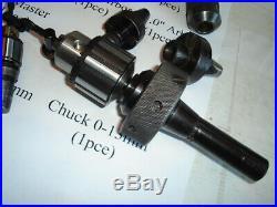13 Pce Quick Change Tool Holder Falcon Kwiklok R8 Master Bridgeport Machinist