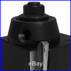 14-20 CNC Lathe CA Wedge Quick Change Tool Post Set Lathing Swing 250-401Holder