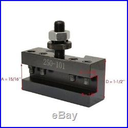 250-101 250-102 Turning and Facing Holder Quick Change Tool Post And Tool Holder