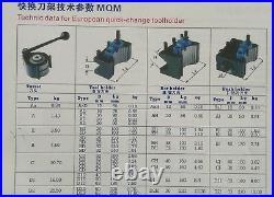 2 PCS BD25120 Turning Tool Holder 4 B2 B Multifix Quick Change Tool Post 540-311