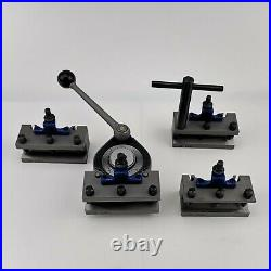 40 Position Quick Change Tool Post A Multifix Size A With AD2090 AH2085 Holders