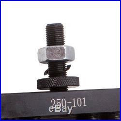4PCS Lathe Facing Holder For 6-12 AXA Quick Change CNC Turning Tool 250-101