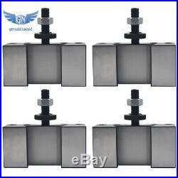 4Pcs New CXA #1 Quick Change 250-301 Tool Post Turning & Facing Holder