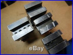 4 Older Kdk203 Quick Change Tool Holders For Metal Lathe