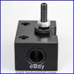4 Pc Bxa Wedge Tool Post Intro Set Cnc Turning, Facing, & Boring Lathe Holders