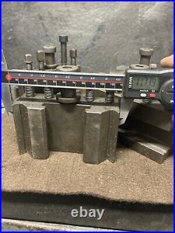 4 Quick Change Tool Post Holders Turning Boring MT3 Dickson Bison MH Grazioli