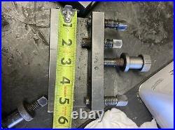 4 Quick Change Tool Post Holders Turning Boring MT4 Dickson Bison MH Grazioli