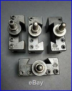 4 USA! BXA Quick Change Tool Holders Aloris DTM H75-2A Machinist Lathe 10-15