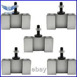 5Pcs CXA #2 250-302 Quick Change Tool Post Boring, Turning & Facing Holder