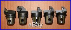 5 Kennametal KM Quick Change Indexable Lathe Tooling
