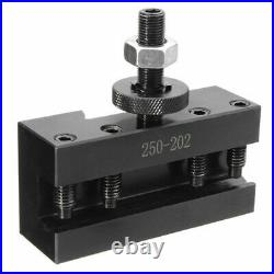 5pcs 10-15 BXA #2 Quick Change Turning Facing & Boring Tool Post Holder 250-202