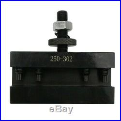5pcs CXA#2 Quick Change 250-302 Tool Post Turning & Facing Holder Free Shipping