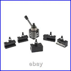 6 12 AXA Wedge Quick Change Tool Post and Tool Holder Set for CNC Lathe USA