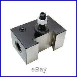 6-12'' Piston Quick Change Tool Poste Set FR Aloris 100 AXA Boring Tool Holder