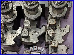 6 Metal Lathe Quick Change Lathe Tool Post Boring, Turning & Facing Holders