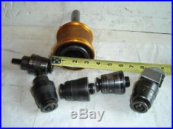 6 Pc Quick Change Tool Holder Diamond R8 Master Boring Head Machinist Bridgeport