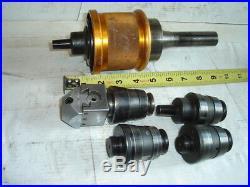 6 Pce Quick Change Tool Holder Diamond R8 Master Boring Head Machinist
