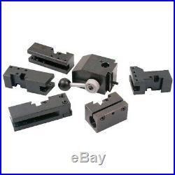 6 Piece Kdk Style-100 Quick Change Tool Post & Holder Set (3900-5425)