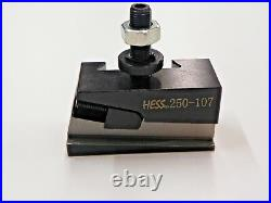 6 pc AXA QUICK CHANGE PISTON TOOL POST SET 250-100 6 TO 12 SWING Y024
