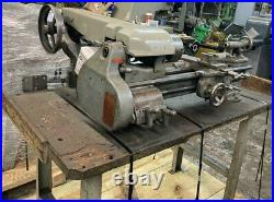 9 SOUTH BEND LATHE with quick change gear box quick change tool holder axa size
