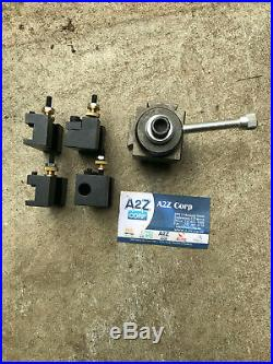 A2Z CNC Mini Lathe Quick Change Tool Post and Tool Holders