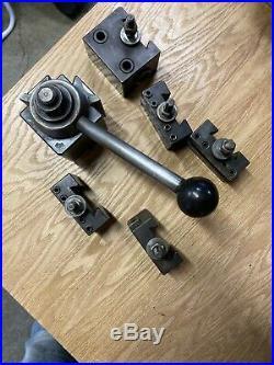 ALORIS BXA 12-15 Quick Change Tool Post Metal Lathe South Bend Machinist