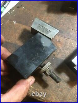 ALORIS BXA-8 Thread Cutting TOOL HOLDER Lathe South Bend Logan Quick Change