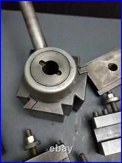 ALORIS CXA Wedge Tool Post & Quick Change Tool Holder Threading Machinist DTM