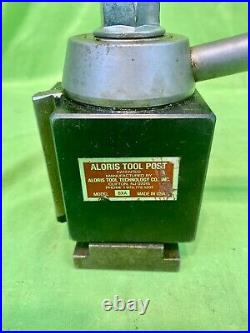 ALORIS Model BXA Wedge Tool Post Quick Change MADE IN USA