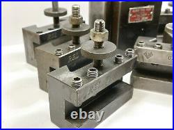 ALORIS Quick Change Tool Post with Various Holders USED