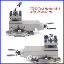 AT300 Holder Quick Change Tool Post Holder Metal Work Tool Parts Kit Assembly