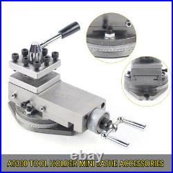 AT300 Tool Holder Mini Lathe Accessories CNC High Precision Quick Change 20mm
