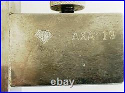 AXA-19 Aloris Adjustable Knurling Tool Post Holder Quick Change AXA #19