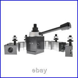 AXA 250-100 Piston Quick Change Tool Post Holder Set For Lathe 6 12 6Pcs