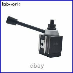 AXA 250-100 Set Piston Type Quick Change Tool Post Holder For Lathe 6- 12