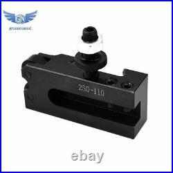 AXA Size 250-111 Set Wedge Type Quick Change Tool Post Set for Lathe 6- 12 New