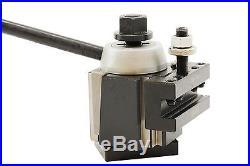 AXA Size Wedge Type Quick Change Tool Post Set for Lathe 6- 12 250-111 Set New
