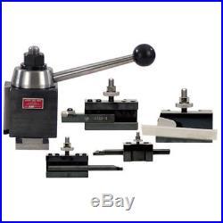 Aloris #3-bs 5 Pc. Cxa Starter Set Tool Post & Lathe Holders Cnc USA