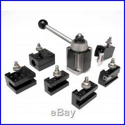 Aloris #3-set 7 Pc. Cxa Quick Change Lathe Tool Set Tool Post & Holders Cnc USA