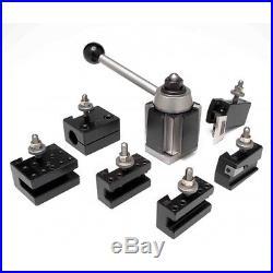 Aloris #4-set 7 Pc. Ca Quick Change Lathe Tool Set Tool Post & Holders Cnc USA
