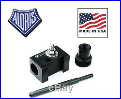 Aloris AXA-5C Quick Change Collet Drilling Holder for Tool Post Made in USA