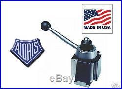 Aloris AXA Super Precision Tool Post Lathe Swing 12 MADE USA