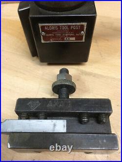 Aloris Ax Tool Post & Axa-1 Quick Change Tool Holder, USA