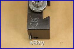 Aloris Axa Quick Change Tool Post And Axa7 Parting Blade Cutoff Tool Holder