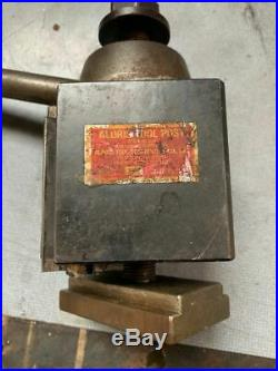 Aloris BXA Quick Change Super-Precision Tool Post