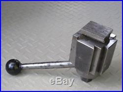 Aloris BXA Quick Change Tool Post & Aloris BXA 1 Tool Holder
