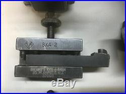 Aloris BXA quick change tool post and holders (Machinist Metal Lathe)