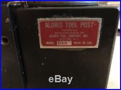 Aloris Bxa Tool Post Quick Change