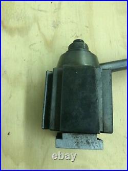 Aloris Bxa Wedge Type Quick Change Tool Post USA Made 10-15 Swing